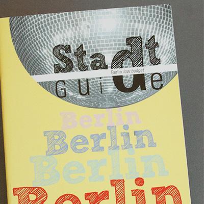 Stadtguide  Berlin low budget Heft