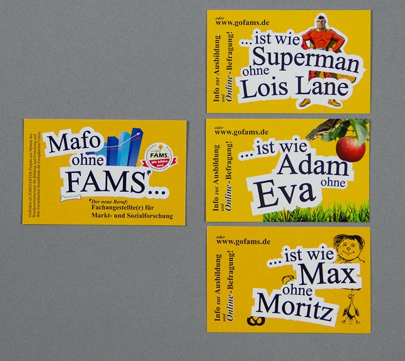 goFAMS Projektkarte