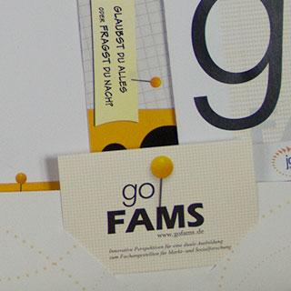goFAMS Projektmappe