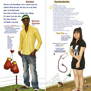 Karamo Cissoho und Lina Tea