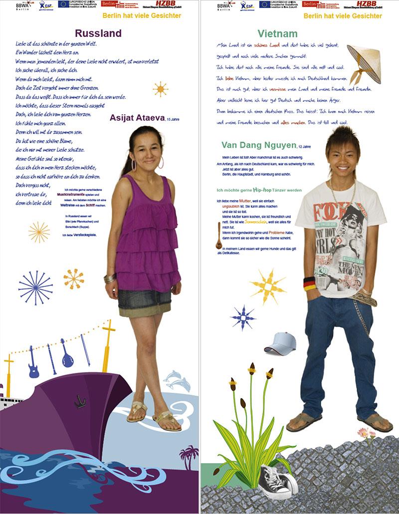 Asijat Ataeva und Van Dang Nguyen