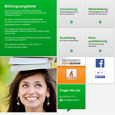 Corporate Design Webauftritt und Drucksachen